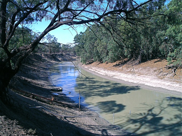 The once mighty Darling River