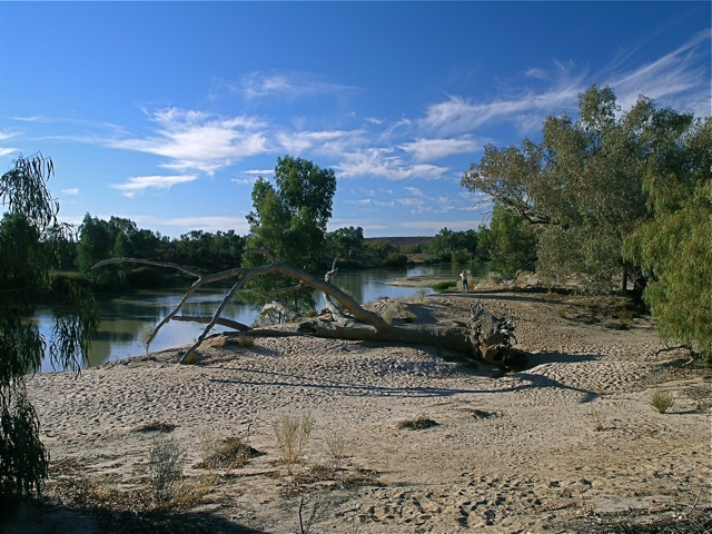 Great inland rivers, a natural conduit for water transfer.